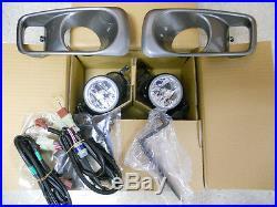 1999-2000 Genuine Honda Civic Raybrig Fog Light Lamp Kit JDM New 08V31-S01-103