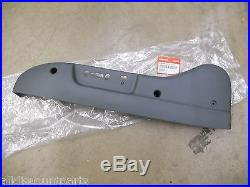 2003-2008 Genuine Honda Pilot Gray Driver Power Front Seat Reclining Cover New