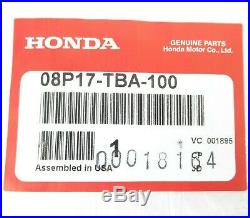 2016-2020 Honda Civic All Season Floor Mats Set Genuine OEM New 08P17-TBA-100