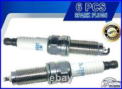 6PCS New Genuine FIT for NGK Iridium Spark Plugs 12290-R70-A01 ILZKR7B11 ACCORD