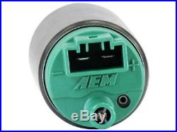 AEM GENUINE 50-1200 320LPH E85 Performance Intank Fuel Pump 40PSI+Install Kit