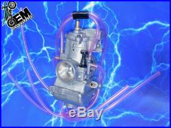 Complete 2 Stroke 38mm Carburetor Kit KEIHIN PWK Carb Intake Genuine OEM Stock