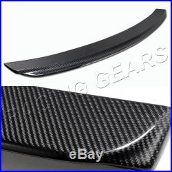 For Honda CIVIC Sedan/4-dr Real Carbon Fiber Rear Roof Window Visor Spoiler Wing