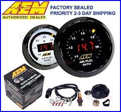 GENUINE AEM 30-4110 Wideband Gauge Controller AFR O2 Air Fuel Ratio 2 1/16 52mm
