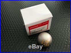 GENUINE OEM HONDA S2000 CR ROUND SHIFT KNOB With YELLOW LETTERING 00-09 S2K AP1/2