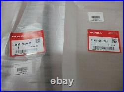 Genuine 88-91 Honda CRX Driver & Passenger Quarter Window Glass Outside Molding