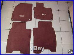 Genuine Honda Civic FN2 Type R Brand New Carpet Mats 2008-2011