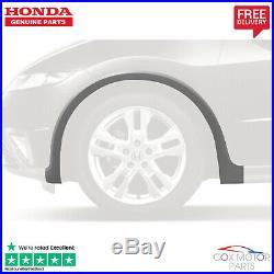 Genuine Honda Civic Left Front Grey Plastic Wheel Arch Trim/Protector 2006-2011