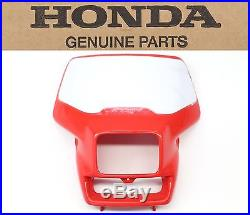 Genuine Honda Front Headlight Shroud 00-07 XR650 R OEM Plastic Shell #F36