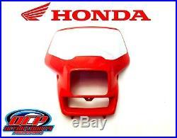 Genuine Honda Front Headlight Shroud 2000 2007 XR650 R OEM Plastic Shell