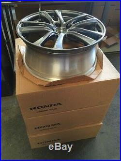 Genuine Honda HPD HFP Wheels 18x7.5 Civic Crz Accord 5 Lug Gunmetal Enkei Rims