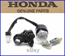 Genuine Honda Ignition Key Switch Lock Set CB CL 200-750 OEM (See Notes) #Y61
