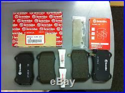 Genuine Honda integra type r dc5 DC5 front brake pads brembo 45022S6MJ52. NEW