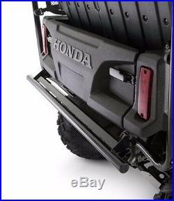 Genuine OEM Honda Pioneer 1000 5 Seater 5 Person Black Rear Bumper SXS 1000