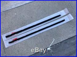 Genuine Oem Honda 92-95 CIVIC Outer Left & Right Window Door Molding Assembly