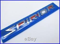 Genuine Spirior Vti-s Rear Chrome Emblem Badge Accord Euro Cu1 Cu2 Tsx 2008-2014