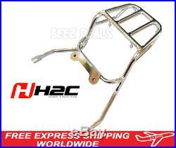 H2C Genuine Rear Rack Chrome Luggage Carrier Honda Z125 Monkey 125 New 2018 2020