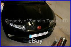 Honda Civic FN2 Type R FRONT REAR EMBLEM 2006 2011 JDM H Red Genuine NEW Badge