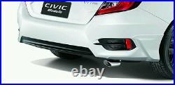 Honda Civic X GENUINE EXHAUST TIP Finisher Pipe Muffle Sedan Coupe FC FK 2016-20