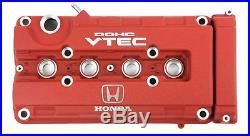 Honda Genuine Oem B18c B16b Integra Type R Dc2 Red Valve Cover12310-p73-j00