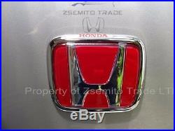 Honda Integra DC2 Type R REAR EMBLEM JDM Red Genuine ITR 75701-ST7-Z00 Badge 97