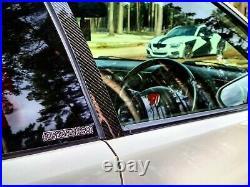 Honda Integra DC5 TYPE R, ACURA RSX REAL Carbon Fiber Door Pillar Covers