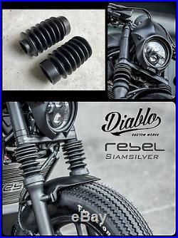 Honda Rebel CMX 300 500 2017 Shock Front Fork Cover Suspension Absorber Dust