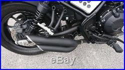 Honda Rebel CMX 500 300 2017 2019 Double Exhaust System Pipe Slip On Custom