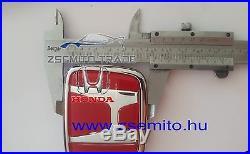 Honda S2000 S2K FRONT EMBLEM JDM H Red Genuine NEW 75700-S2A-000ZE Badge
