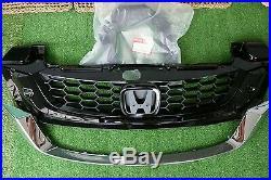 JDM 2010-2015 Genuine Honda Civic FB EX SI Sedan Front Bumper Radiator Grille TS