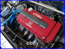 JDM HONDA OEM Genuine H-logo Type R RED Valve Cover B18 INTEGRA DC2 for B-series