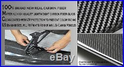 JDM Real Carbon Fiber GT Style Racing Back Rear Trunk Spoiler Wing Brackets B54