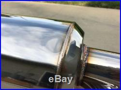 Jdm Genuine Mugen Power Twin Loop Axle Back Exhaust 92-00 Honda CIVIC Hatchback