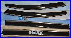NEW Genuine OEM Honda 2011-2017 Odyssey Door Window Visor Set 08R04-TK8-100A