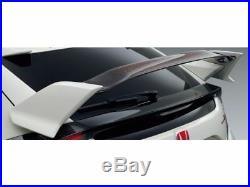 NEW JDM Honda CIVIC TYPE R FK8 Tail Gate Spoiler Real Carbon Genuine OEM