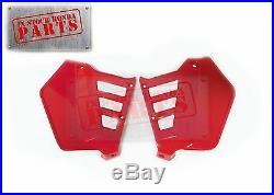 New Genuine Honda 1985 1986 Atc250r Atc 250r Oem Factory Red Radiator Shrouds
