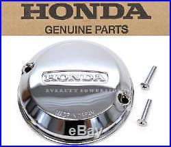 New Genuine Honda Chrome Points Cover withGask CB 350F 400F 500K 550K 550F #Q59