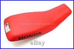 New Genuine Honda Complete Seat 02 03 04 05 TRX250 EX Sportrax OEM #G21