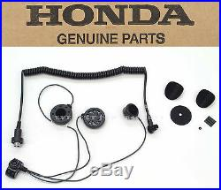 F6B Honda Genuine Accessories Deluxe Headset Open Face Helmet Goldwing
