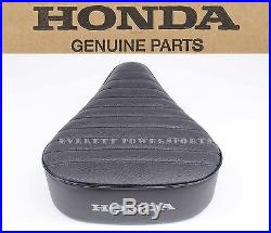New Genuine Honda Factory Seat CT90 CT110 69-86 TRAIL White Honda Stamp OEM #o23