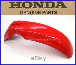 New Genuine Honda Front Fender 2000-2015 XR650 L OEM Red Mud Guard #E09