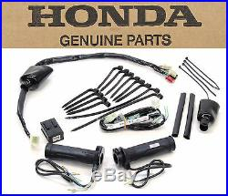 New Genuine Honda Heated Grips Kit ST1300 Complete Grip Set and Hardware #N03