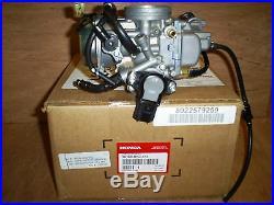 New Genuine Honda Oem Trx 500 Fa Foreman Rubicon Carburetor 2001,2002,2003 Atv