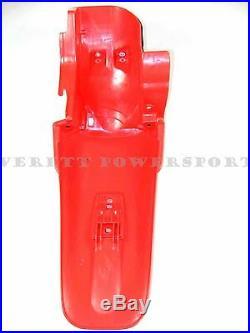 New Genuine Honda Rear Fender 2000-2007 XR650 R OEM Fighting Red Mudguard #E43