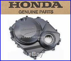 New Genuine Honda Right Engine Cover 07 08 CBR600 RR OEM Clutch Side Case #p90