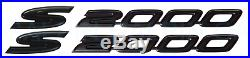 New Genuine Honda S2000 Black Fender Emblems Cr Style Set Of 2