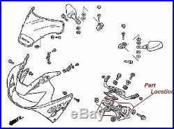 New Genuine Honda Upper Cowl Stay Brackets 00-01 CBR929 RR Cowling #V98