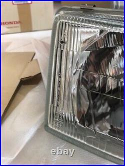 New HONDA Genuine 92-95 Civic Headlight headlamp Glass Lens H4 EG EG9 EG6 EJ1