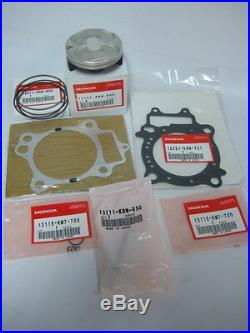 New Oem Replacement 2017 Genuine Honda Crf450r Top End Kit With Gaskets Crf450
