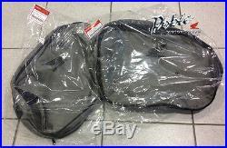 New Pair of Genuine Honda OEM Large Deluxe Pannier Inner Bags Bag Holdalls x 2